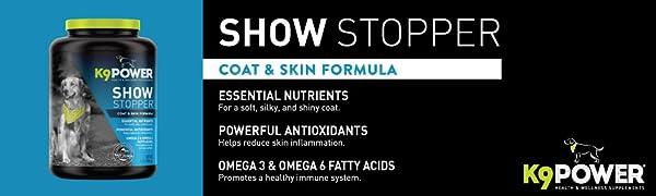Show Stopper coat and skin formula