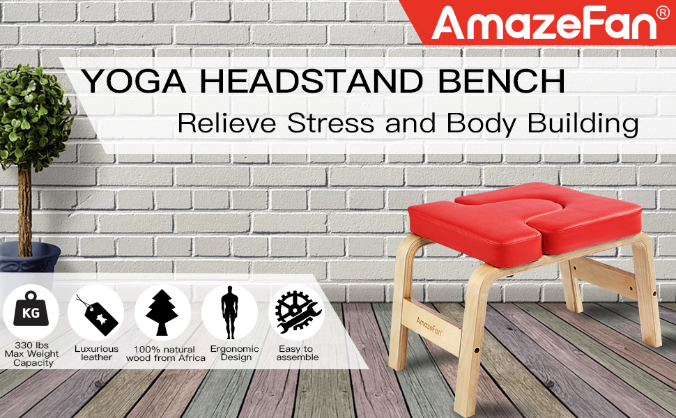 yoga headstand bench