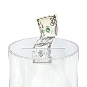 unbreakable money jar