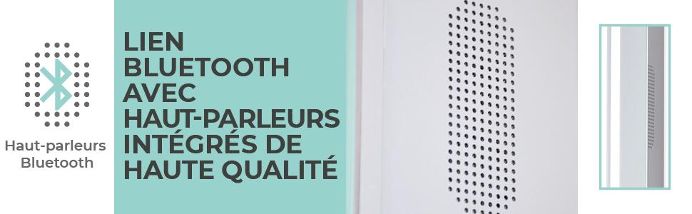 Bathroom Mirror Cabinet Lights Motion Sensor Switch LED Bluetooth shaver Socket shelves demister