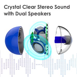 clear stereo sound