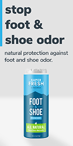 Super Fresh Foot and Shoe Powder