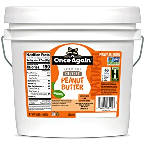 ONCE AGAIN natural peanut butter