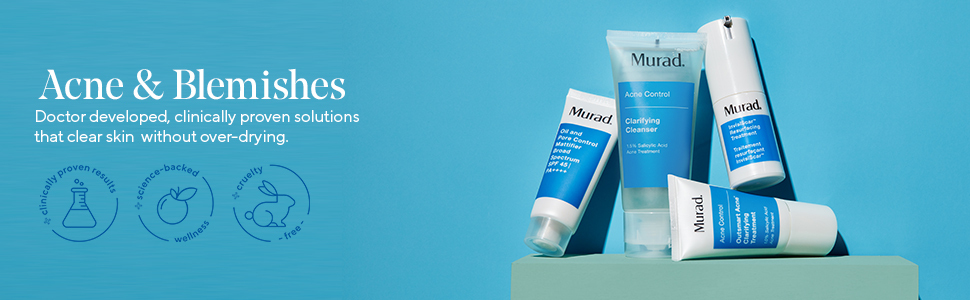 murad clarifying oil free water gel for acne and blemishes