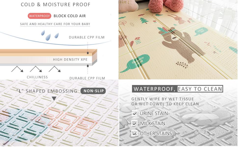 foldable play mat