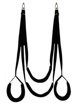 Dual hook swing