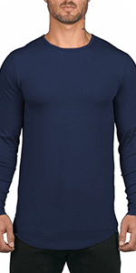 drop tail shirts for men