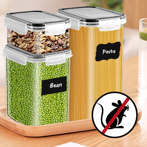 flour storage containers with lids bpa free kitchen containers storage organization plastic