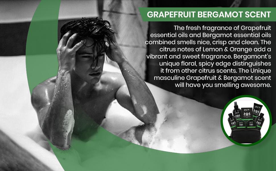 Grapefruit bergamot essential oils
