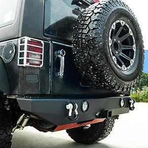 hitch receiver bumper