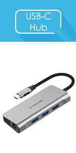 6 in 1 USB-C Hub