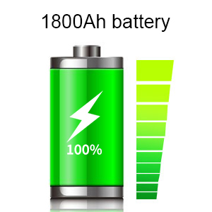 Built-in Rechargeable Battery