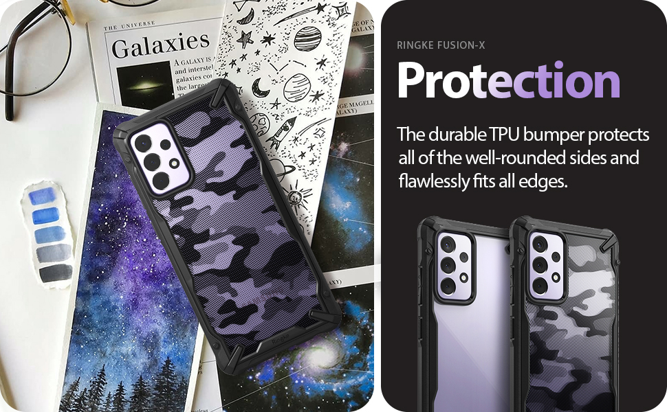 Ringke Fusion-X Case for Galaxy A72 5G