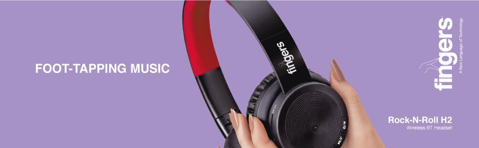 FINGERS Rock-n-Roll Headset