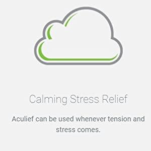 Suplemento de alivio del estrés calmante para sujetarlo a la mano y aliviarlo