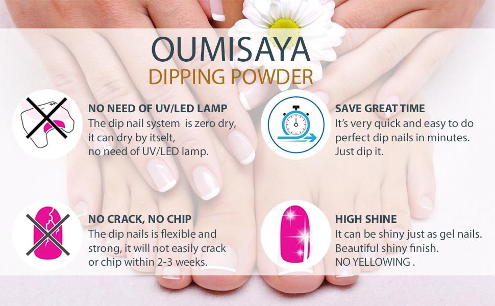 Easy to Use, No need of UV/LED
