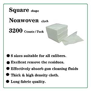 Non woven square