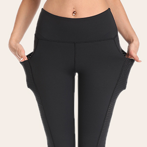 capris with side pockets