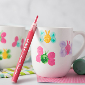 Acrylic paint pens can paint anything on multiple surfaces!
