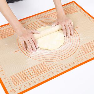 pie crust mat silicone pastry mat
