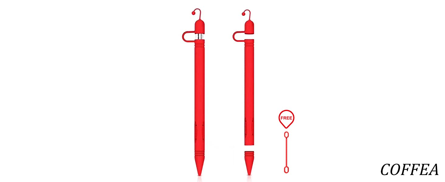 Apple Pencil Case red