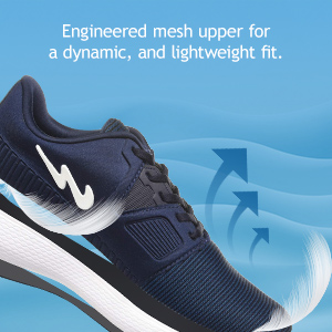 Engineered Mesh Upper For A Dynamic And Lightweight Fit