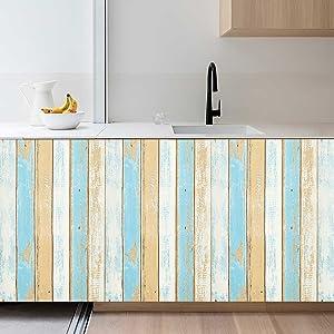 Wood Wallpaper Peel and Stick Wallpaper Removable Wallpaper Wall Decor
