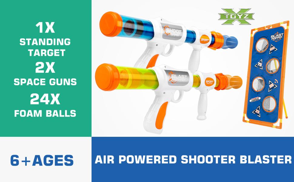 Foam Ball Popper Air Toy Guns
