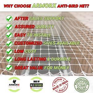kabutar jaali anti birds net bird pigeon protection farm balcony window net