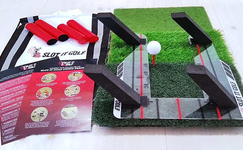 Slot It Golf Swing Training Aid Complete Package