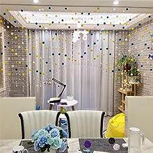 Bead curtain decoration