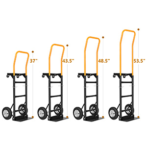 push cart hand trucks dolly cart trolley wheels grocery cart 2-wheel 4-wheel appliance folding