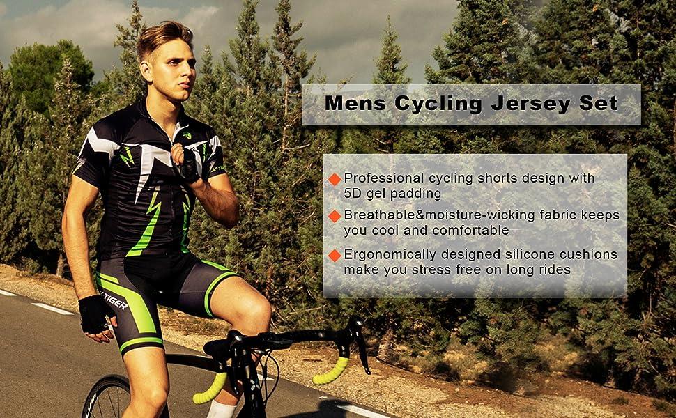 cycing jersey set