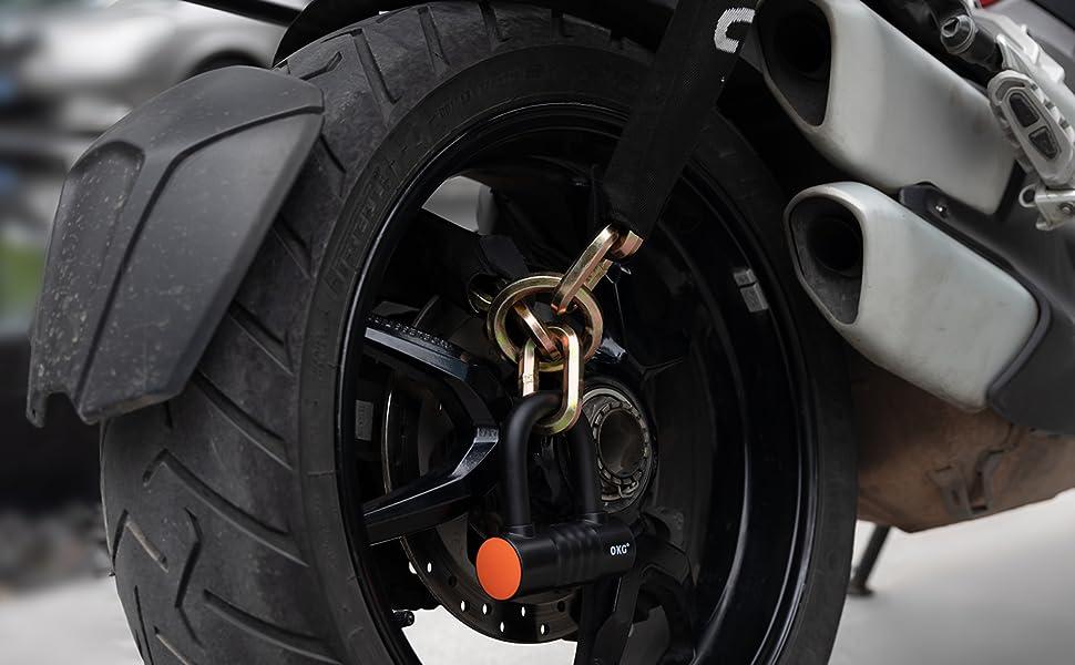Bicycle Lock Combination Lock Combi Moped Scooter Bike Chain Lock