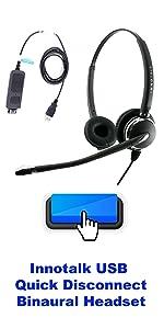 USB ChangePro Headset