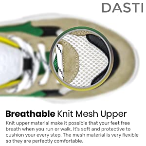 breathable knit mesh upper sneakers zapatos
