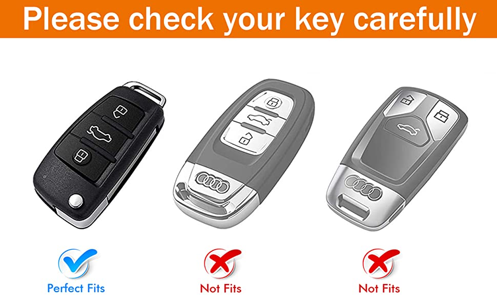 for Audi Key Fob Cover Case