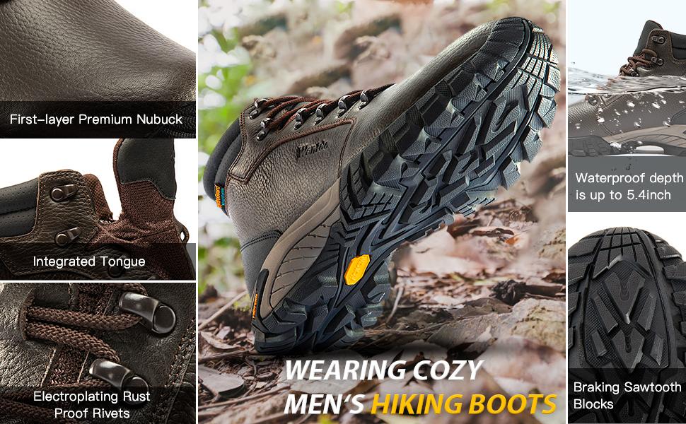 Wantdo Waterproof Hiking Boots