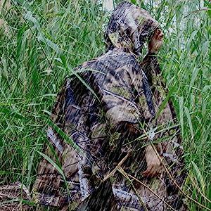 hunting poncho