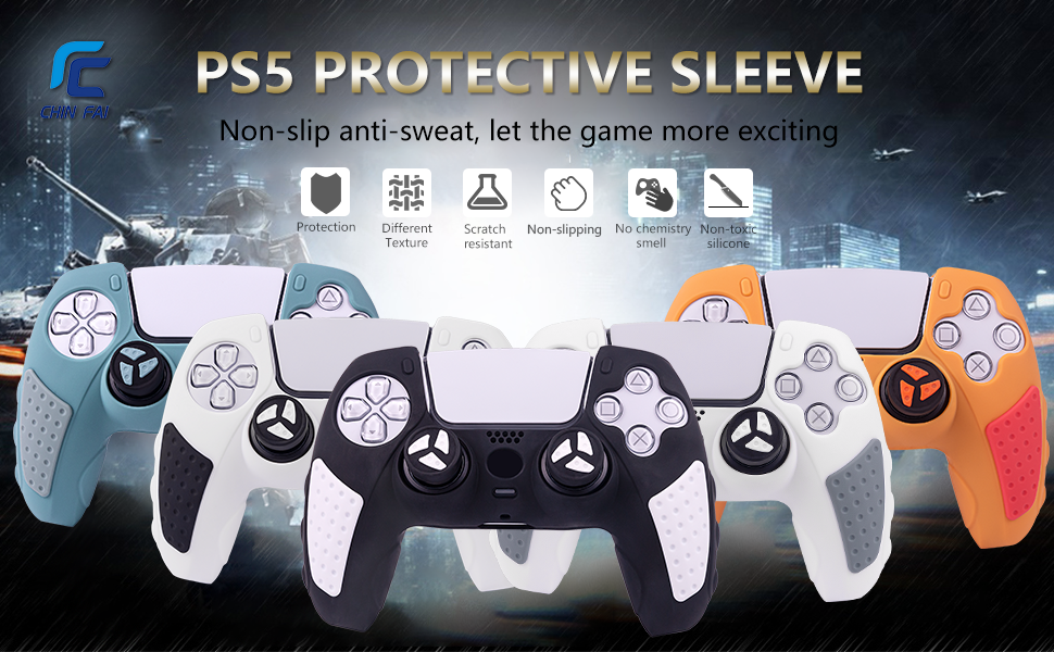 ps5 controller cover grip
