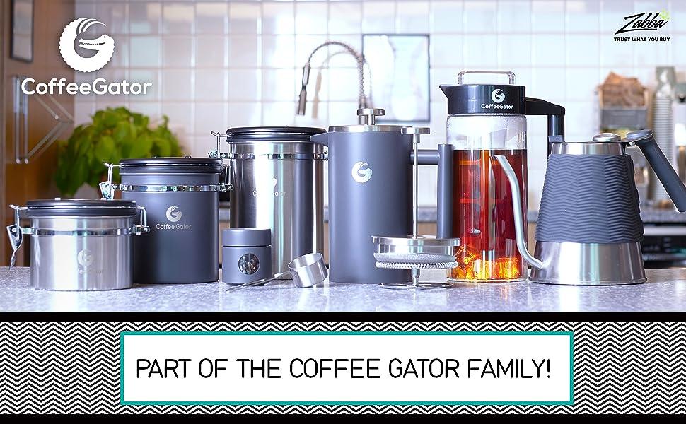Coffee Gator Gooseneck Kettle