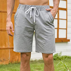 draw sting sweat shorts,sweatshorts,sweatpant shorts,mens cotton shorts,grey sweat shorts men,shorts