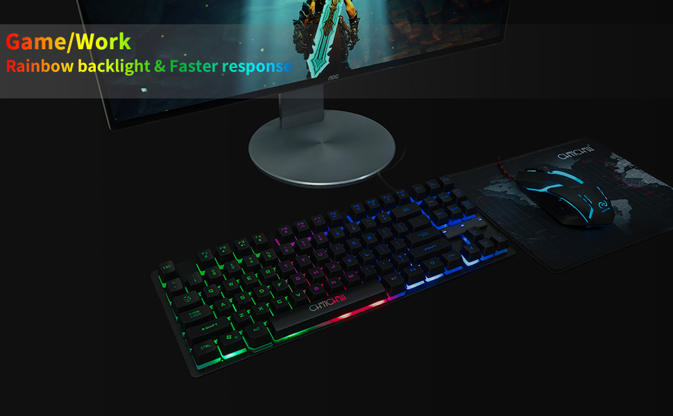 compact tkl 87 key usb wired 60% gaming keyboard led backlit tenkeyless ps4 xbox pc gaming keyboard