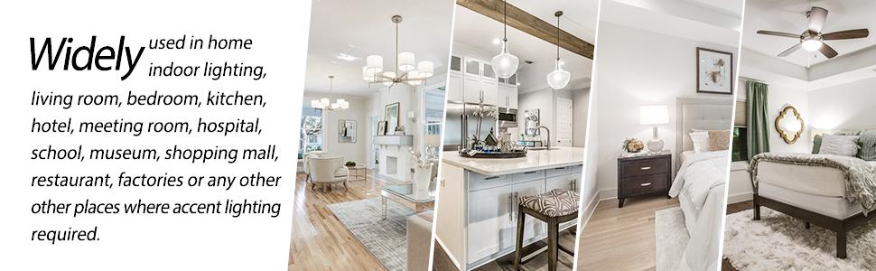 Daylight 5000K bulb chandeliers light dining room bulb bedroom meeting room standard E12 bese bulb