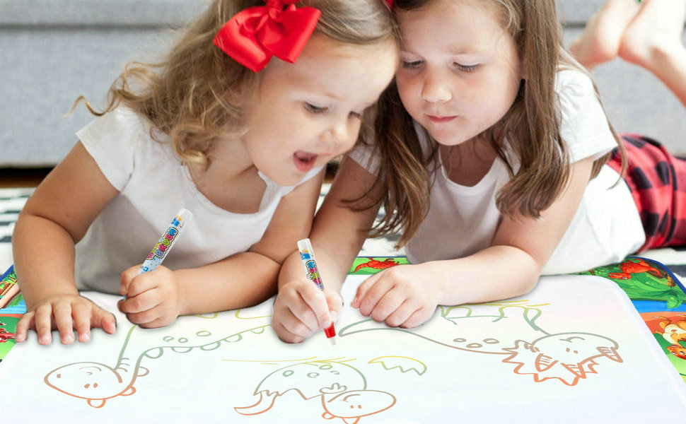 water doodle mat for toddler