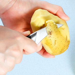 birds beak peeling knife for kitchen fruit cutting easy hold comfortable