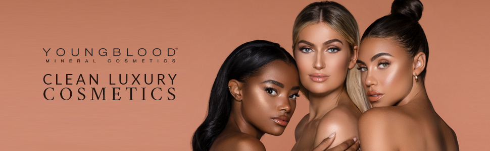 loose face powder foundation mineral makeup full coverage light oil control shine matte acne clean