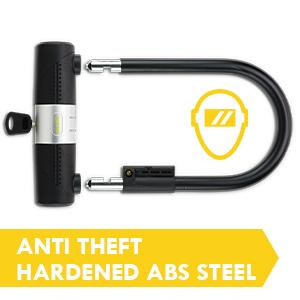 SIGTUNA U-lock I Model Wodan bike locks bicycle freedom anti theft abs steel u lock