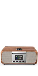 radio clock alarm clock with radio lan internet radio wireless radio wifi internet radio usb radio