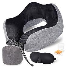 Travel Pillow Memory Foam Neck Pillow